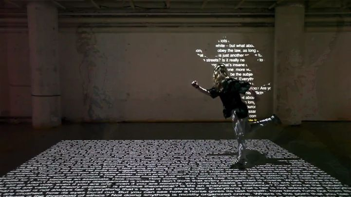 Interactive Shadows Made with Words