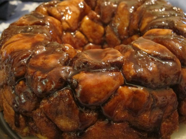 Bread Machine Monkey Bread - this was good and easy. I would add a bit more butter next time for the sauce (mine didn't turn out as gooey). Still really yummy and MUCH better than the canned biscuit recipe!
