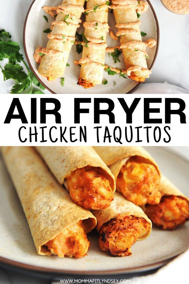 Homemade Taquitos Recipe Air fryer chicken, Recipes