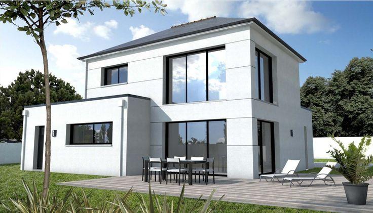 23 best plan maison images on Pinterest Floor plans, Homes and - simulation maison a construire