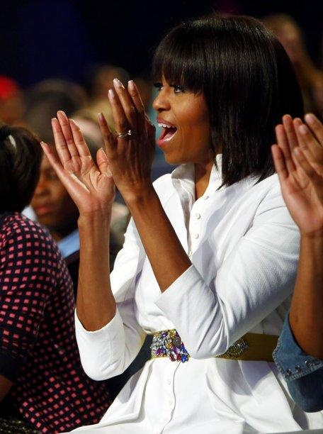 Michelle Obama--Thought this was Kerry Washington when I first saw the pic