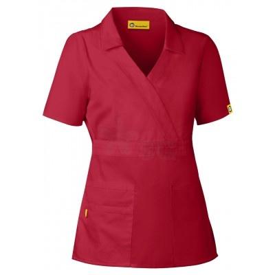 Wonderwink Echo Collared Top to bring fun to your scrubs wardrobe!