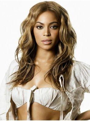 "18"" Blonde Wavy Soft Beyonce Wigs"