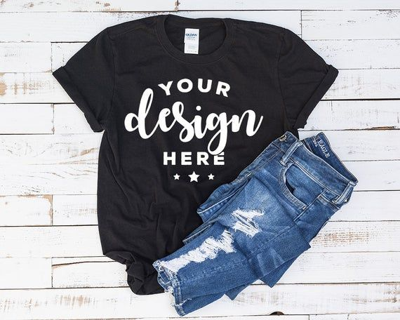 Download Free Black T Shirt Mockup 100 Percent Ring Spun Cotton On Psd This Free T Shirt Template Features Front And Back In 2020 Clothing Mockup Shirt Mockup Diabetes Shirts