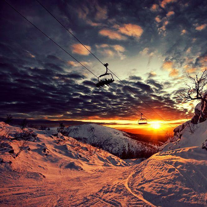 Snowboarding und Mystik