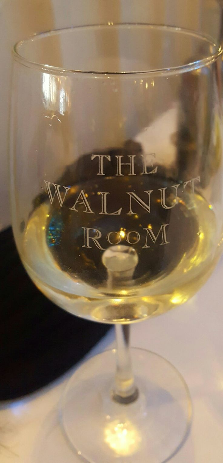 Lovely Wine Glass from Macys Walnut Room. Chicago IL