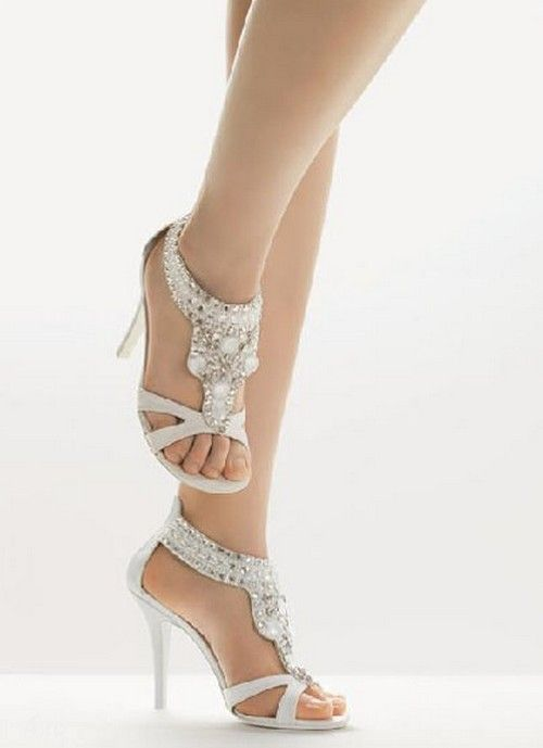 Beautiful Most Comfortable Wedding Heels Photos - Styles & Ideas ...