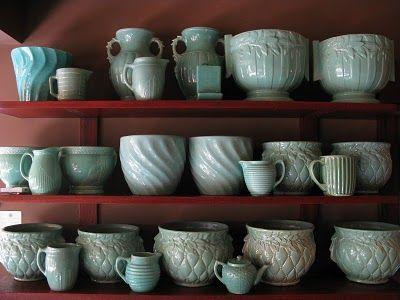 Blue McCoy Pottery