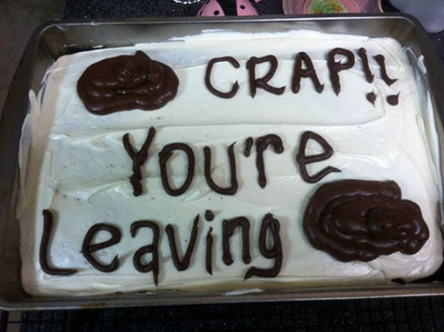The Best Way To Say Goodbye To Your Co-Worker Is A Funny Cake (26 pics)   The Blended Fun