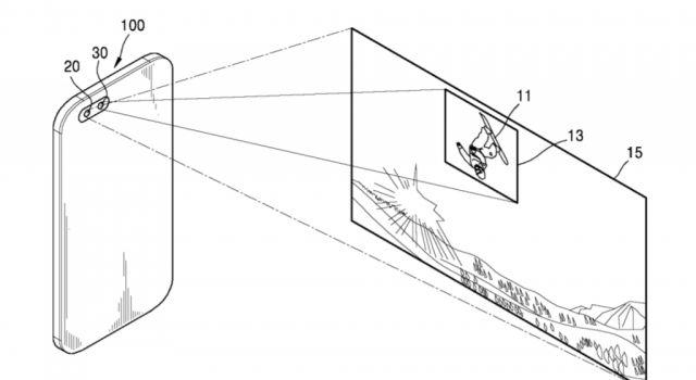 Samsung patenta una nueva cámara dual con un lente gran angular y teleobjetivo