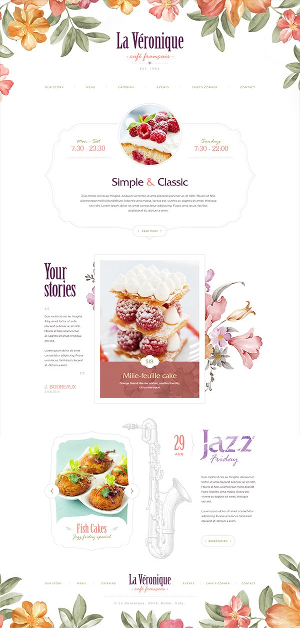 Website design: part 2 on Behance