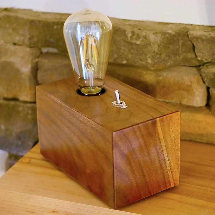 Modern And Stylish DIY Edison Bulb Lamp.