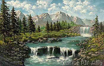 Ada / Kris - Wasserfall I