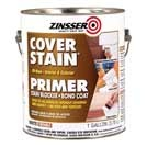 Cover-Stain® is an all-purpose oil-base stain-killing primer-sealer. Ideal for interior and exterior applications. Recoat in only one hour. Great for cedar bleed. May be used under any oil-base or water-base topcoat. Convenient 13-oz. aerosol spray is great for spot priming stains.  Recommended on Centsational Girl's blog.