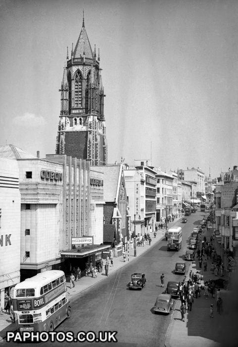 West Street 1956 Brighton