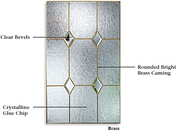 Crystal Diamonds Decorative Glass | ThermaTru Decorative ...