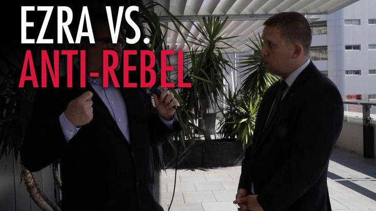 Ezra Levant vs. Soros-funded Hungarian Politician - The Rebel