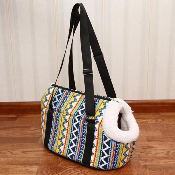 Type: DogsStyle: FashionFeature: BreathableFitable Weight: 10kgItem Type: Soft-Sided CarriersSeason: All SeasonsPattern: PrintApplicable Dog Breed: UniversalMaterial: clothPrinting: YesUse: Pet Carrier Bagsis_customized: YesType: DogsDog snacks Type: Pet Carrier BagsSpecification: S MDog bag: Pet carrierColor: As pictureSac de transport pour chien: Bag for dogBolsos para perros: Transportin perro