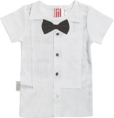 Dress up for any occasion in this adorable Sooki Baby Bird in Tux T shirt $28.95
