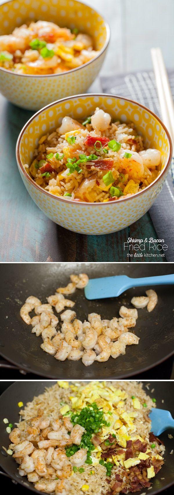 Shrimp & Bacon Fried Rice