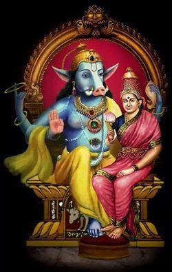 Sri Varaha&Lakshmi