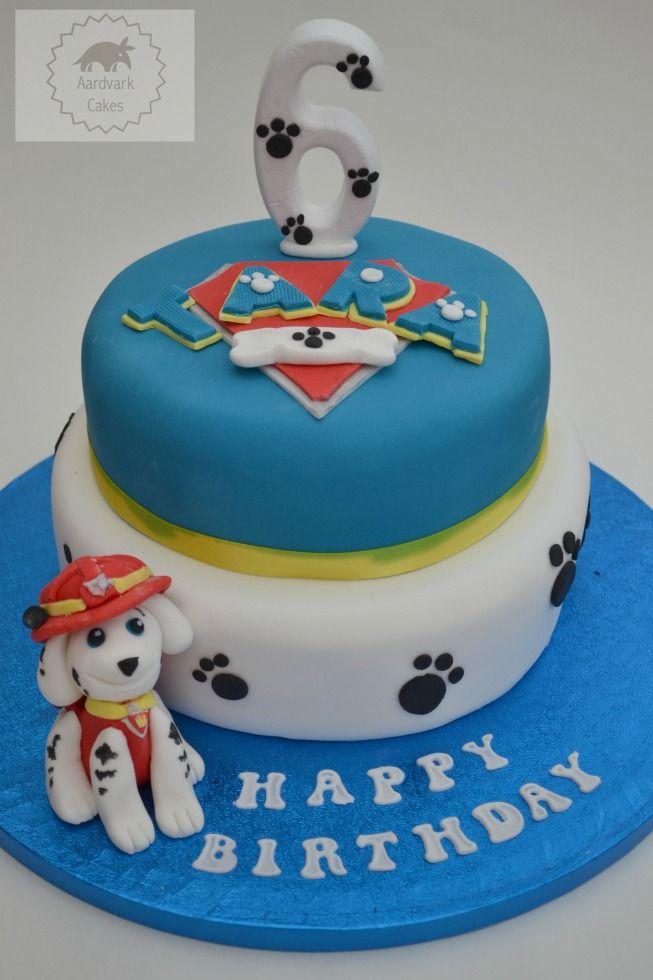 Paw Patrol birthday cake