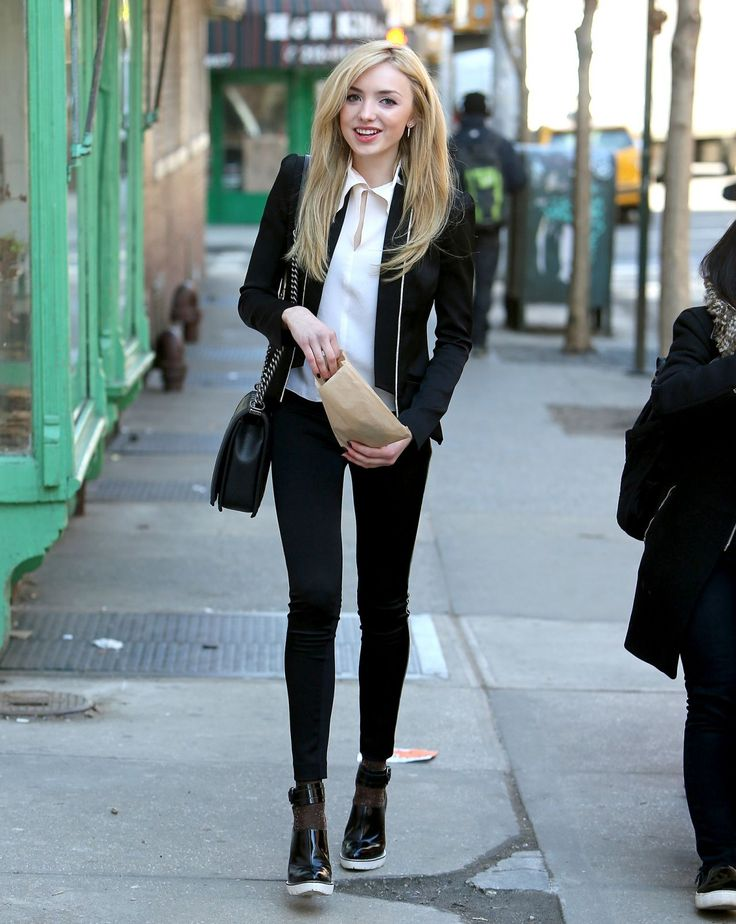 Peyton Roi List Casual Style – Out in New York City – March 2015