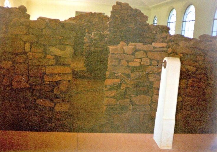 Yapeyú. Restos de la puerta de ingreso a la casa natal del Gral. Don José de San Martín.