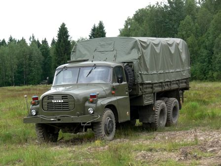 Czechoslovakian Tatra 148 was produced between 1972 and 1982, replacing the earlier T138