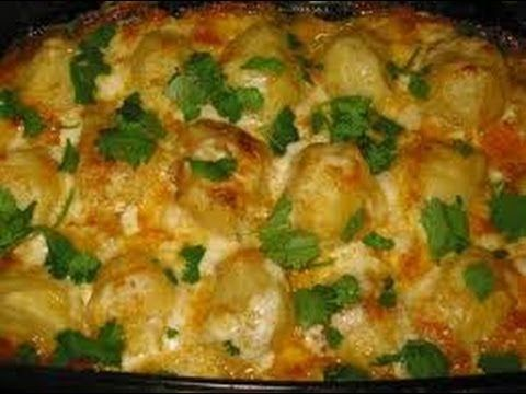 Картошка в духовке (очень вкусная) Potatoes in the oven (very tasty) - YouTube
