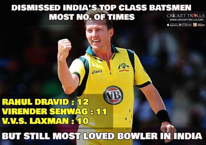 Happy Birthday Brett Lee The Most Loved Fast Bowler In India - http://ift.tt/1ZZ3e4d