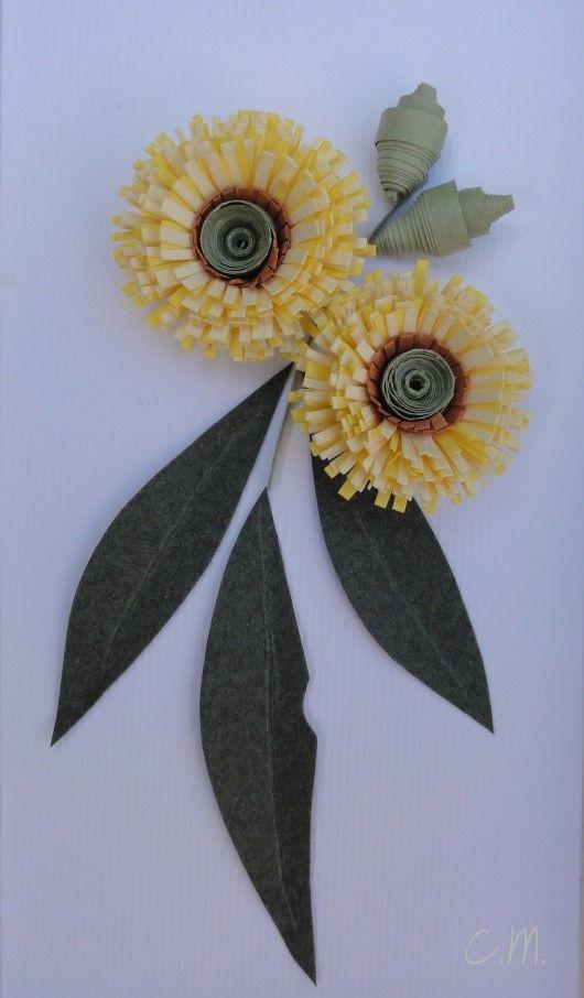 Snap Happy Birding: Paper-Sculpture & Quilling (Australian Native flowers)