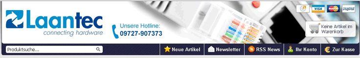 Die beste Seite um Netzwerkkabel und Patchkabel zu kaufen, www.laan-tec.com, immer einen Besuch wert!