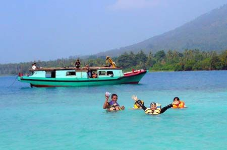 Banten juga mempunyai obyek wisata pantai yang sangat menarik yaitu Pulau Umang. Tertarik mengunjunginya? #PulauUmang