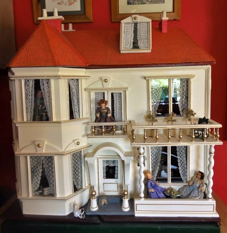 A large and rare antique G&J Lines Dolls House with elevator, circa - 540 Best LINES & TRIANG DOLLS HOUSES Images On Pinterest