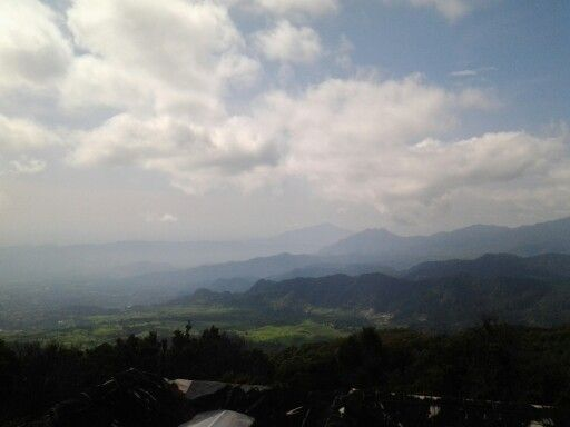 Tangkuban Perahu, the other side of the mountain