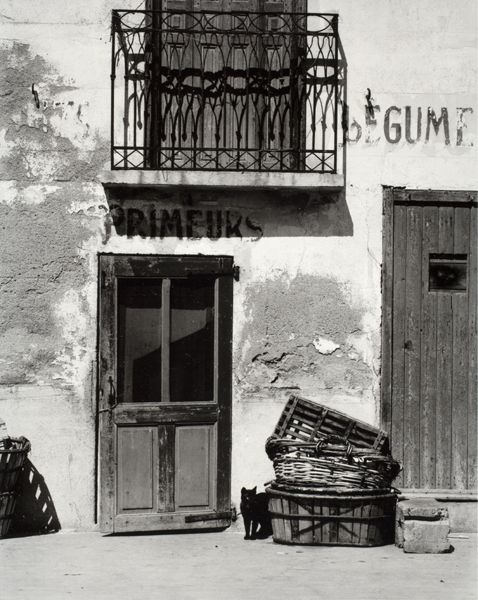 Paul Strand: Shop, Le Bacares, Pyrenees-Orientales, France, from Portfolio IV, 1950