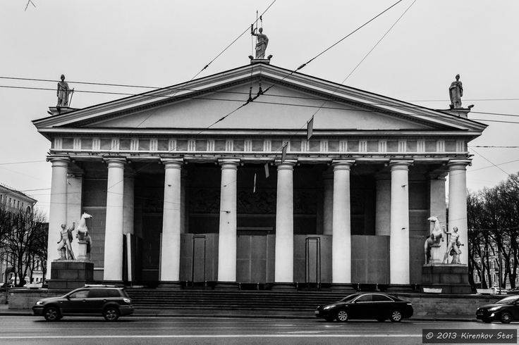 Central Exhibition Hall Manege by Стас Киренков on 500px