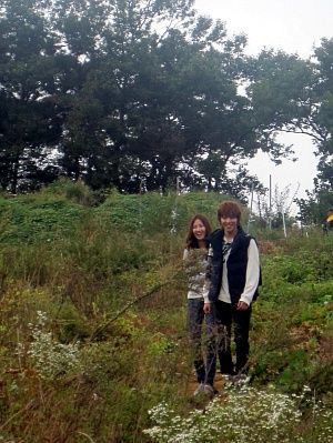 Goguma Couple @ Goguma Field <3 Watch Goguma Couple Again @ http://wgmhammer.blogspot.com/2014/07/wgm-goguma-couple-eng-sub.html