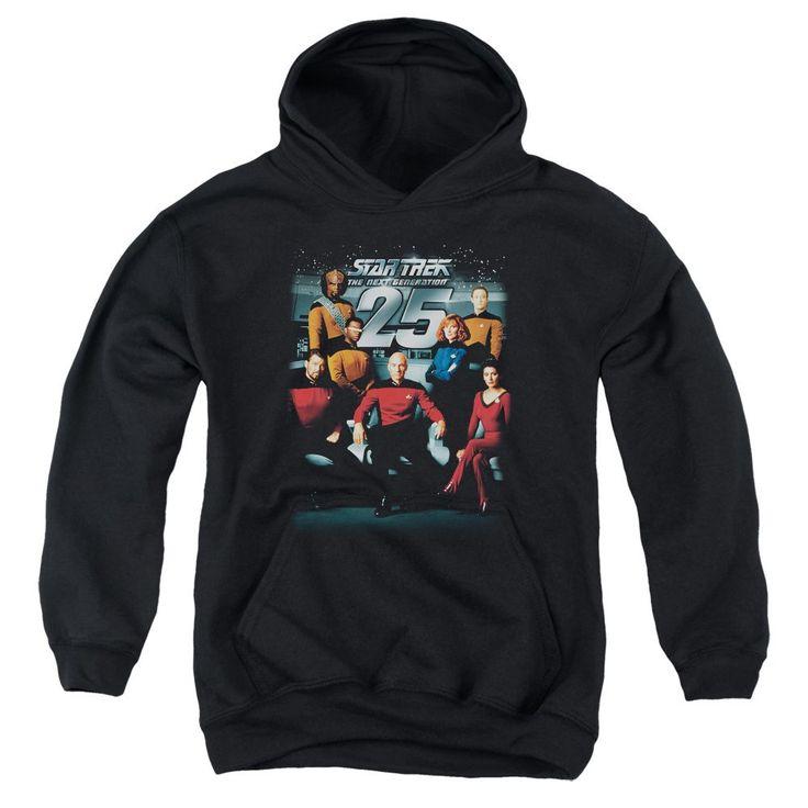Star Trek - 25th Anniversary Crew Youth Pull-Over Hoodie