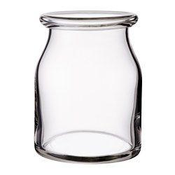 IKEA - BEGÄRLIG, Vase, Mundgeblasen; jedes Exemplar wurde von einem talentierten Kunsthandwerker gefertigt.