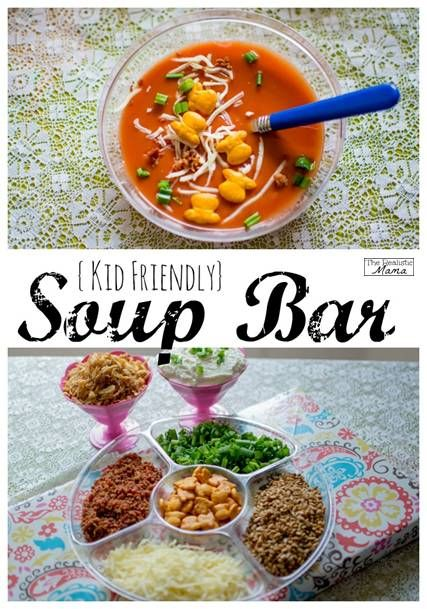 Kid Friendly Soup Bar Infused Water Best Of The Realistic Mama