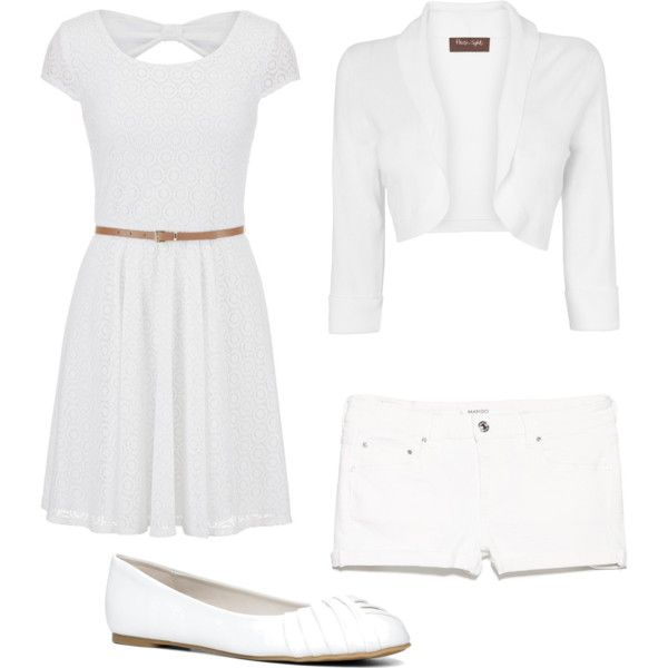 white by nikita-austin on Polyvore featuring polyvore fashion style maurices Phase Eight MANGO ALDO
