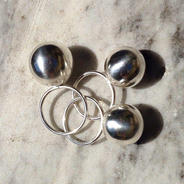 #rings #jewellery #steffanyroup #everwantedtoownasilverball #nowsyourchance