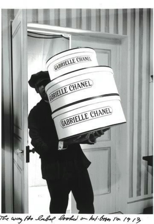 Vintage Chanel Hat Boxes ~ 1913