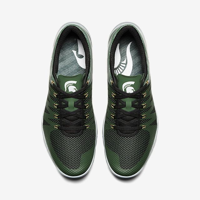 official photos 69248 afc83 See 3  Nike Free Trainer 5.0 V6 AMP (Michigan State) Men s Training Shoe.  Nike.