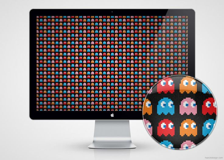 Pacman Fever Wallpaper - Free to download @ http://haeckdesign.com/freebies/wallpaper/pacman-fever-wallpaper