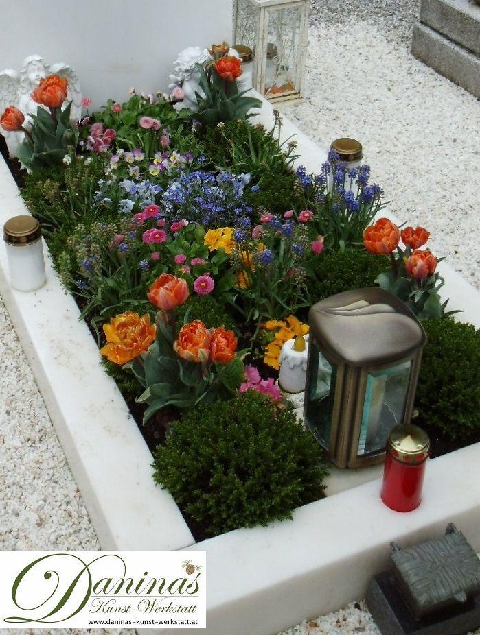AuBergewohnlich Grabgestaltung Selber Machen | Grabgestaltung | Grave Planting | Pinterest  | Grabbepflanzung, Grabgestaltung Und Abschied