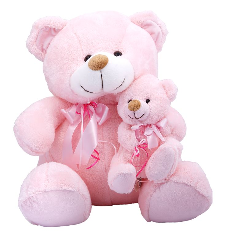 Celebrate the arrival of a baby girl with a Teddy Bear she'll love and cherish for a lifetime. #newborn #babygirl #baby #itsagirl #mother #newmother #gift #much #muchtoys #teddybear #plushtoy
