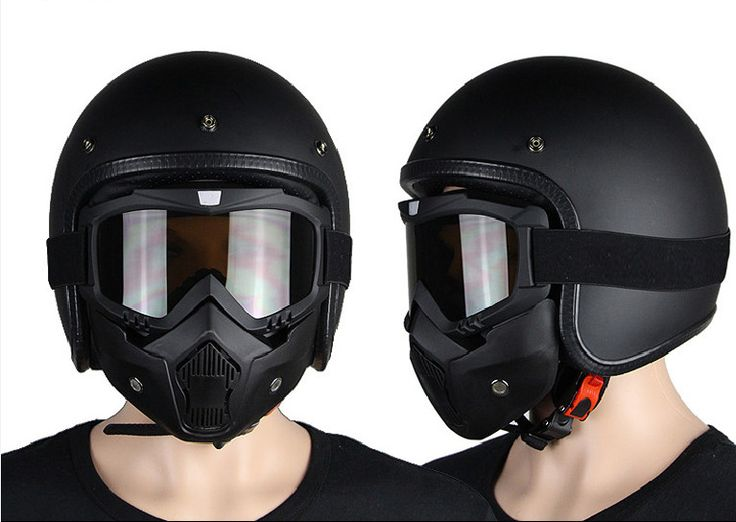 The new for Harley-Davidson motorcycle helmet suitable  wind and dust protection mask black